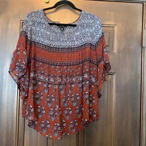 Style & Co Boho blouse